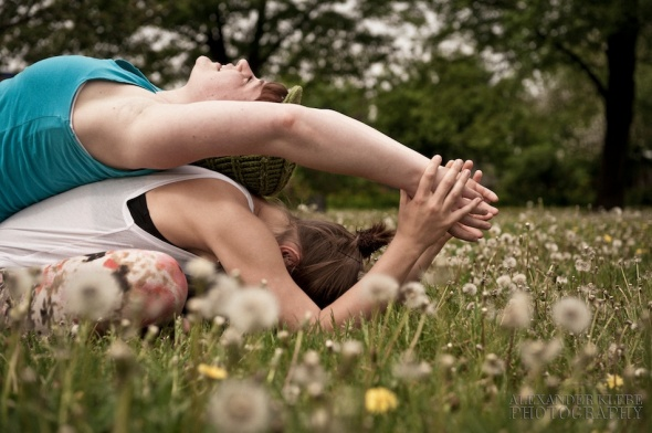 Yoga Partnerstretch - Alexander Klebe Photography